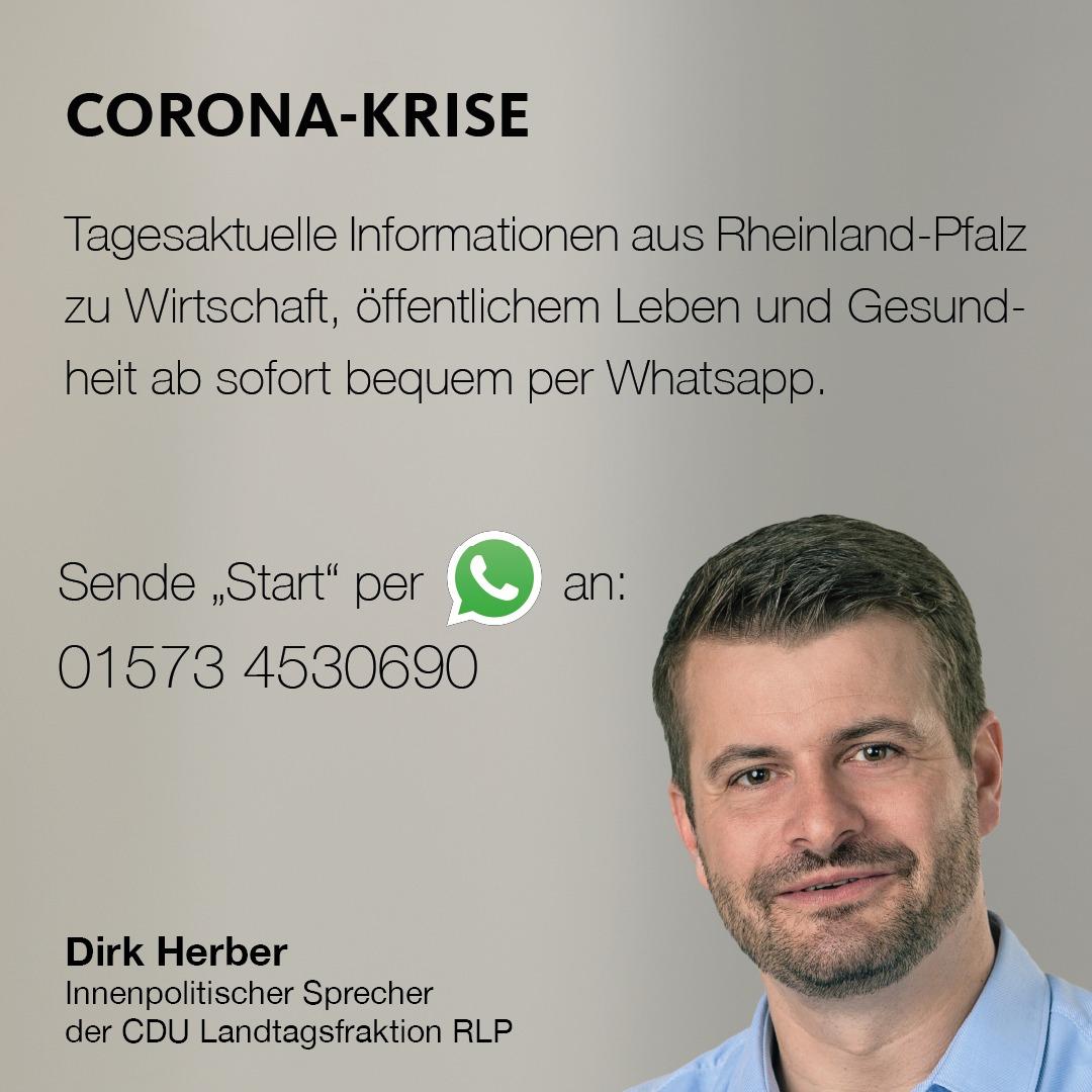 Dirk Herber - Corona Hotline