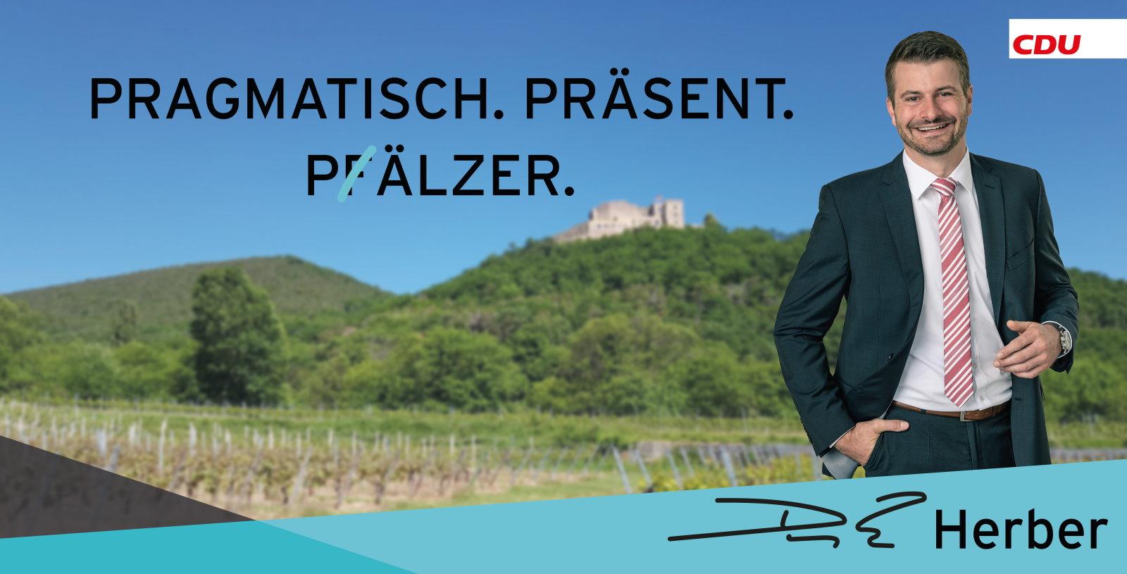 Dirk Herber - Pragmatisch. Präsent. Pälzer.